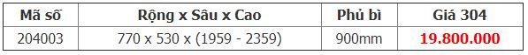 Kệ kéo 36 rổ tủ inox 304 (900mm) – Higold