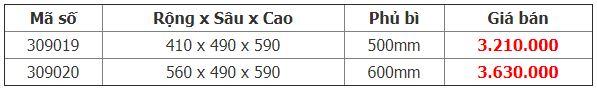 Kệ thực phẩm 4 rổ tủ dưới Diamond Crom (309019, 309020) – Higold