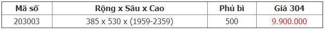 Kệ kéo 18 rổ tủ inox 304 203003