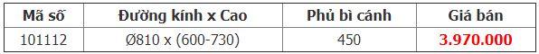 Mâm xoay 3/4 đáy gỗ 900mm – Crom (101112)
