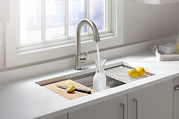 Vòi nước rửa chén bát loại nào tốt 2