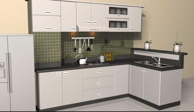 Mẫu tủ bếp inox 304 bền đẹp