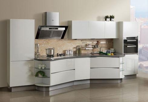 Mẫu tủ bếp inox 304 sang trọng lịch sự