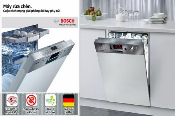 Máy rửa chén bát Bosch