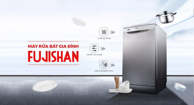 Máy rửa bát Fujishan
