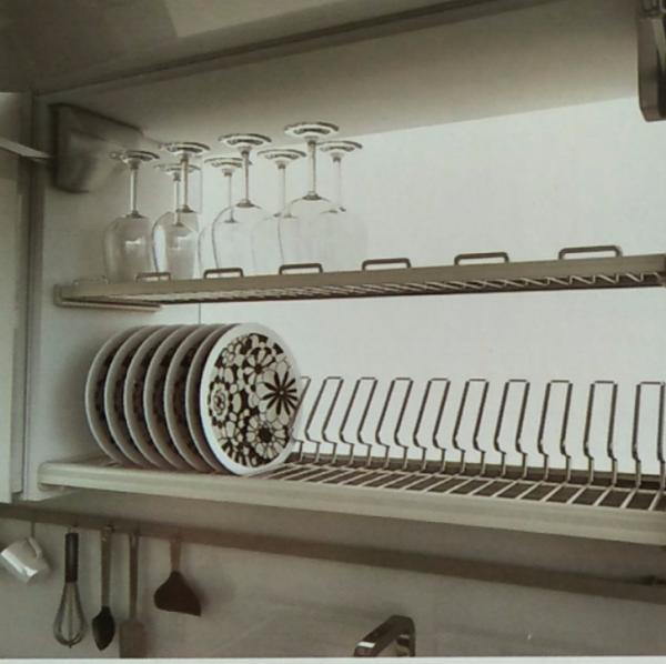 Kệ chén 2 tầng inox âm tủ trên Higold ( 401151 , 401152 , 401153 , 401154 ) 1